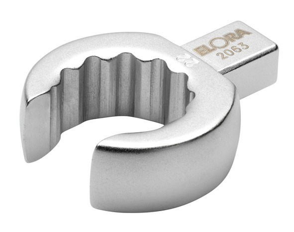 Einsteck-Ringschlüssel, offen, 9x12 mm, ELORA-2063-14 mm