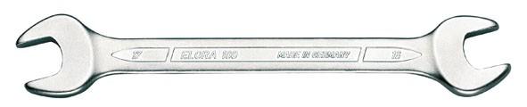 """Doppelmaulschlüssel DIN 3110, ELORA-100A-1.1/2x1.5/8"""""""