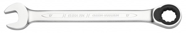 Maulschlüssel mit Ringratsche, ELORA 204-9 mm
