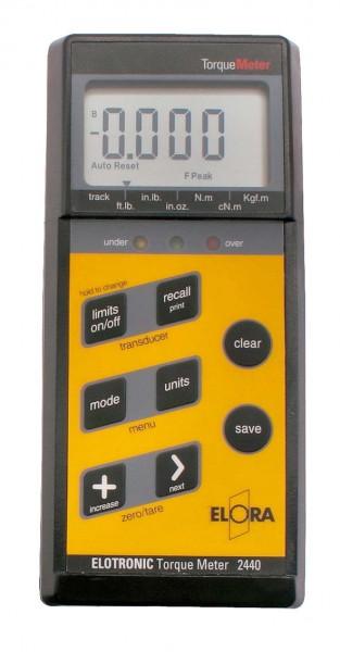 ELOTRONIC Torque Meter, ELORA-2440-ETM