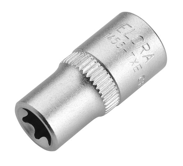 "Steckschlüssel-Einsatz 1/4"" ,TORX®, ELORA-1455-TXE 11 mm"
