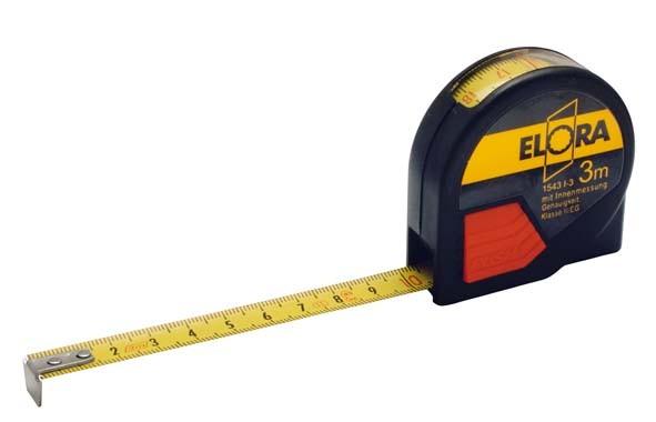 Rollen-Bandmaß, 3 Meter, ELORA-1543I-3