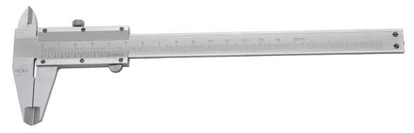 Taschenmessschieber mit Feststellschraube, Messbereich 150 mm, ELORA-1510