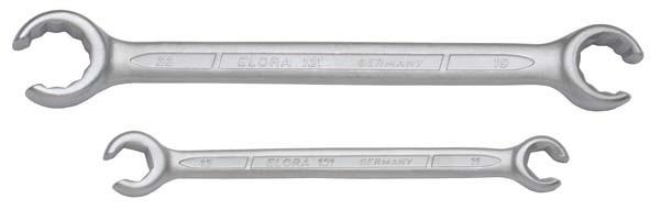 """Offene Doppelringschlüssel, ELORA-121A-3/8""""x7/16"""""""