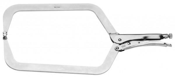 Klammergripzange, C-Form, Spannweite 0-270 mm, ELORA-509-500