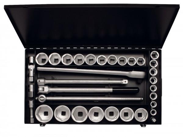 """Steckschlüssel-Satz 3/4"""", sechskant, 34-teilig 18-60 mm, ELORA-771-S24/1 MZ"""