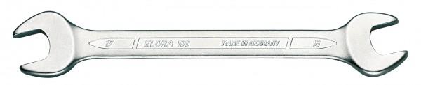 """Doppelmaulschlüssel DIN 3110, ELORA-100A-1.1/2x1.5/8"""" AF"""