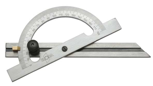 Gradmesser verstellbar, Bogendurchmesser 150 mm, ELORA-1537-150