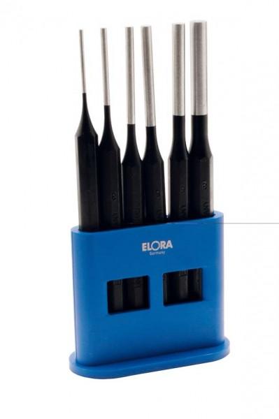 Splinttreiber-Satz in einem Plastikständer, 6-teilig, ELORA-271KS