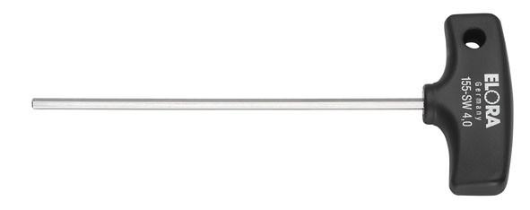 Sechskant-Schraubendreher mit Quergriff, ELORA-155-10-200 mm