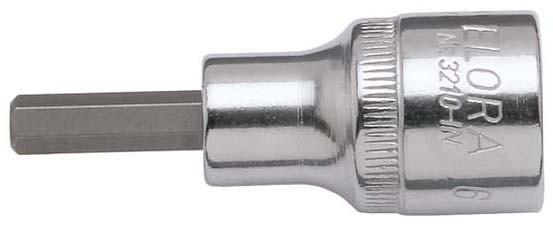 """Schraubendreher-Einsatz 1/2"""", Innen-Sechskant, ELORA-3210-INA 3/4"""""""