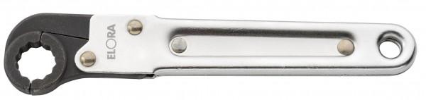 Ring-Ratschenschlüssel, aufklappbar, ELORA-117-17 mm