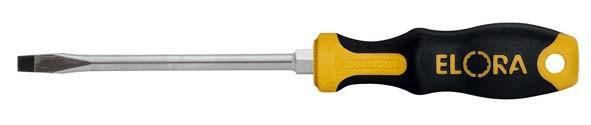Schraubendreher, Schlitz 0,8x4,0, mit 6-kant-Schlüsselhilfe, ELORA-539-IS 90