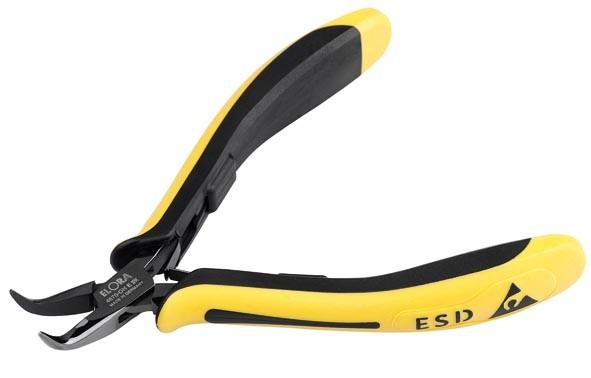 Elektronik Spitzzange ESD mit glatter Greiffläche, ELORA-4670-OH E 2K