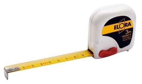 Rollen-Bandmaß, 3 Meter, ELORA-1548SP-3