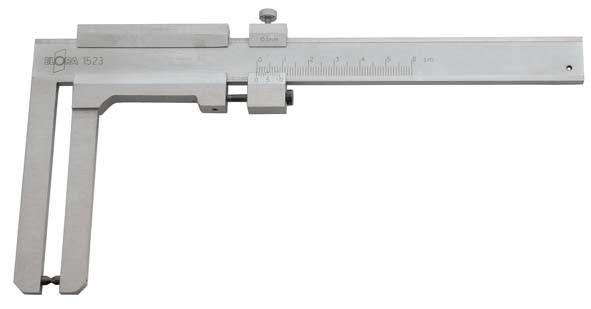 Bremsscheibenmessschieber/ Prüflehre, Messbereich 60 mm, ELORA-1523