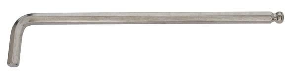 Kugelkopf-Winkelschraubendreher, extra lang, ELORA-159KU-2,5 mm