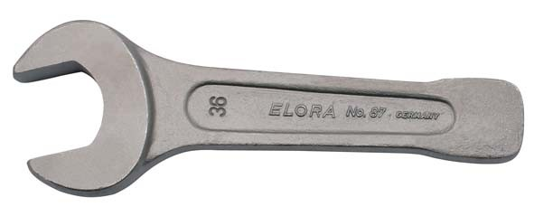 Schwere Schlagmaulschlüssel, ELORA-87-50 mm