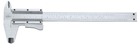 Taschenmessschieber mit Momentverstellung, Messbereich 230 mm, ELORA-1511