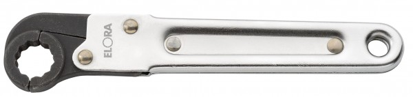 Ring-Ratschenschlüssel, aufklappbar, ELORA-117-10 mm