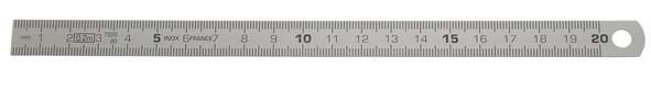 Biegsamer Stahlmaßstab, ELORA-1545-150