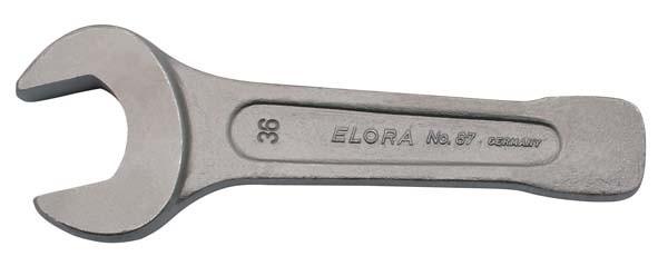 """Schwere Schlagmaulschlüssel, ELORA-87-46 mm / 1.3/4"""" AF"""