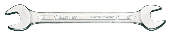 """Doppelmaulschlüssel DIN 3110, ELORA-100A-1.1/16x1.1/8"""""""
