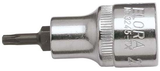 """Schraubendreher-Einsatz 1/2"""" TORX®, ELORA-3245-TX 50"""