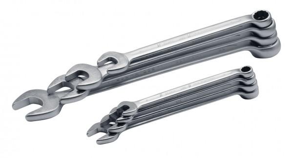 Ringmaulschlüssel-Satz DIN 3113, Form B, 8-teilig 8-22 mm, ELORA-205S 8M