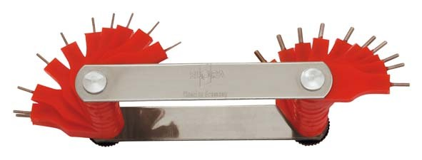Düsenlehre, 20-teilig 0,45-1,50 mm, ELORA-194-20M