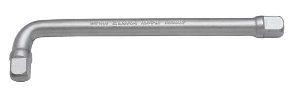 """Festgriff gebogen 1/2"""", ELORA-770-L8"""