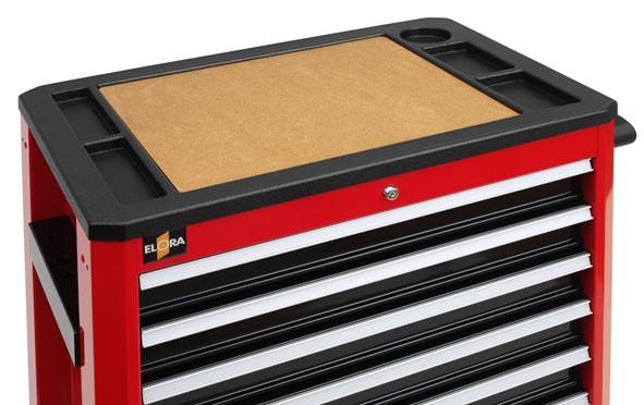 Holzplatte für die Arbeitsfläche für Werkzeugwagen Buddy, ELORA-1210-PL