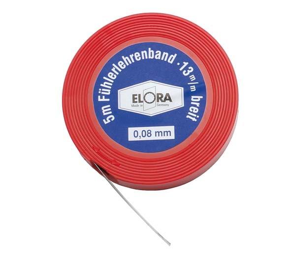 Fühlerlehrenband, Blattstärke 0,07 mm, ELORA 197-07