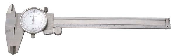 Präzisions-Uhrenmessschieber mit Feststellschraube, Messbereich 150 mm, ELORA-1515-50