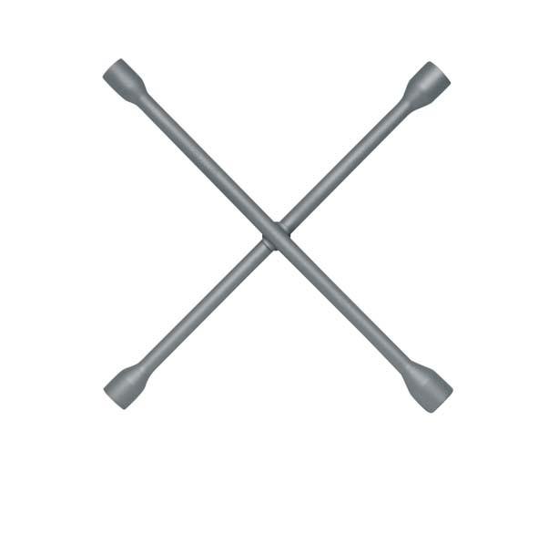 """Kreuzschlüssel 17x19x1/2"""" vierkant 22 mm, ELORA-195WS-1/2"""