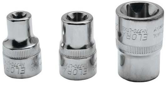 "Steckschlüssel-Einsatz 1/2"", TORX®, ELORA-770-LTXE 18 mm"