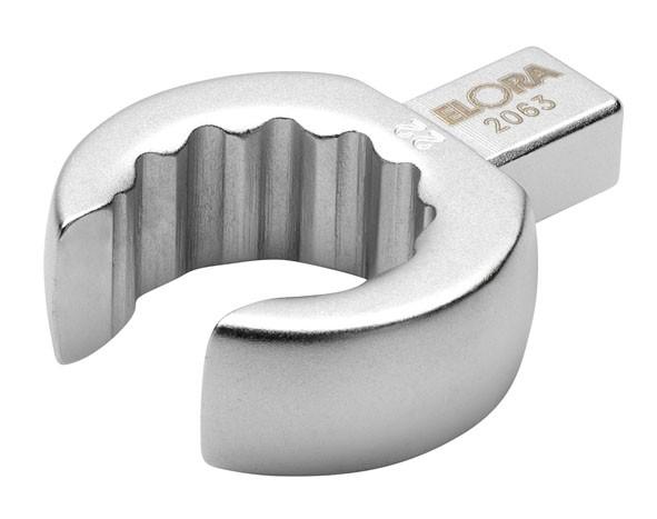 Einsteck-Ringschlüssel, offen, 9x12 mm, ELORA-2063-11 mm