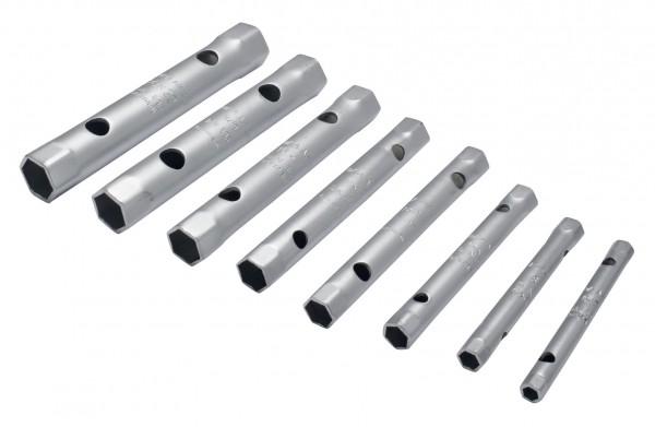 Sechskant-Rohrsteckschlüssel-Satz, 10-teilig 6-27 mm, ELORA-210S 10M