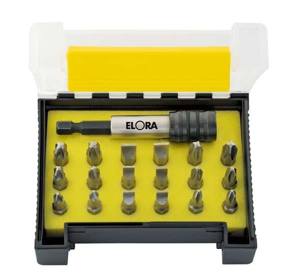 "Bit-Box, 19-teilig, ""Rostfrei"", ELORA-3452 ST"