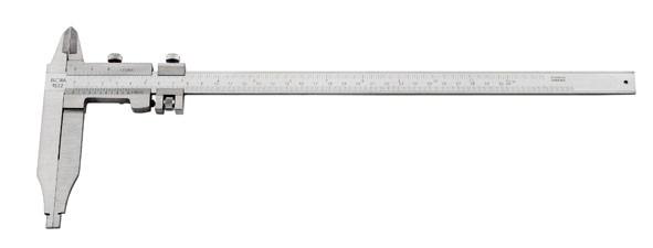 Werkstatt-Messschieber mit Feststellschraube, Messbereich 300 mm, ELORA-1522-200