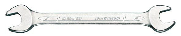 Doppelmaulschlüssel DIN 3110, ELORA-100-5,5x7 mm