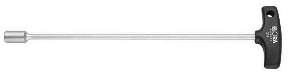 Sechskant-Steckschlüssel mit T-Griff, ELORA-214-11-125 mm