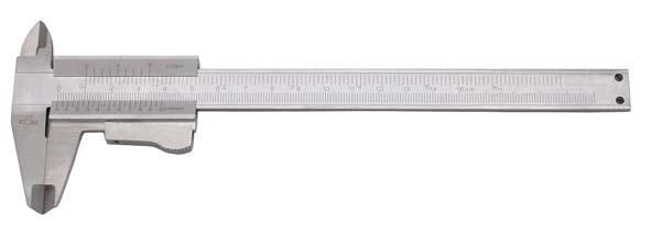 Präzisions-Taschenmessschieber, Messbereich 150 mm, ELORA-1512