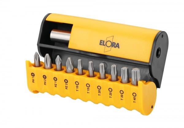 Bit-Box, 11-teilig, ELORA-3453-S11