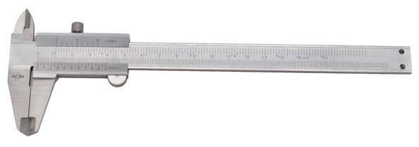 Präzisions-Taschenmessschieber mit Feststellschraube, Messbereich 150 mm, ELORA-1513