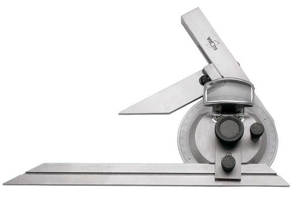 Universal-Winkelmesser mit Lupe, ELORA-1541-200