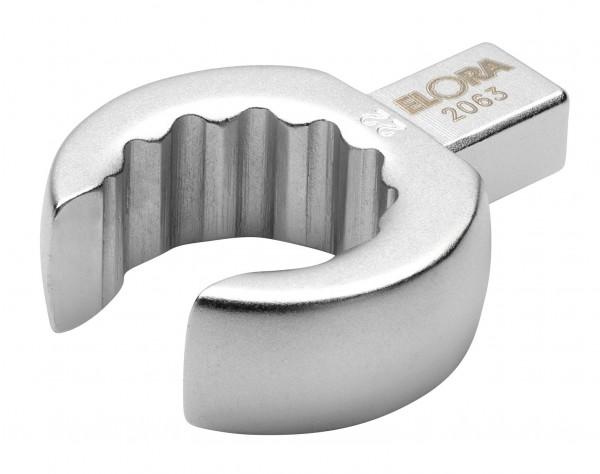 Einsteck-Ringschlüssel, offen, 9x12 mm, ELORA-2063-10 mm