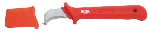VDE-Kabelmesser, mit stumpfen Klingenende, ELORA-977A