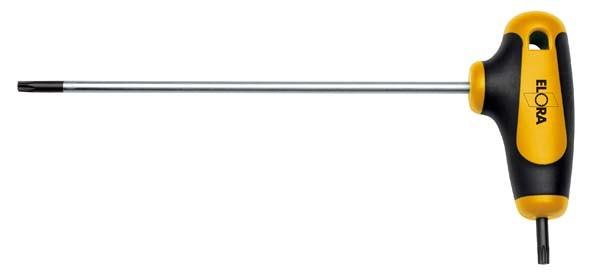 TORX®-Winkelschraubendreher mit T-Griff, ELORA-162WTX-27 mm