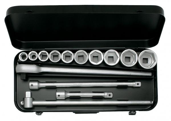 "Steckschlüssel-Satz 3/4"", zwölfkant, 14-teilig 22-50 mm, ELORA-770-S10 MU"